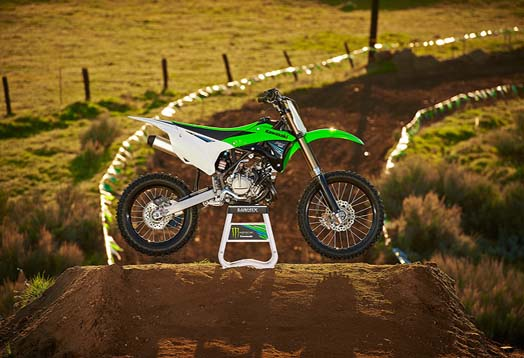 Specifications and Price Kawasaki KX100 2014