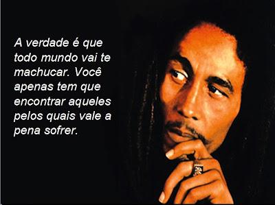 Frases de Bob Marley - Pensador