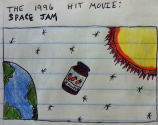 the hit 1996 movie space jam