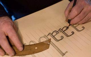 Font sebagai salah satu elemen dalam desain logo - Kursus Desain Grafis