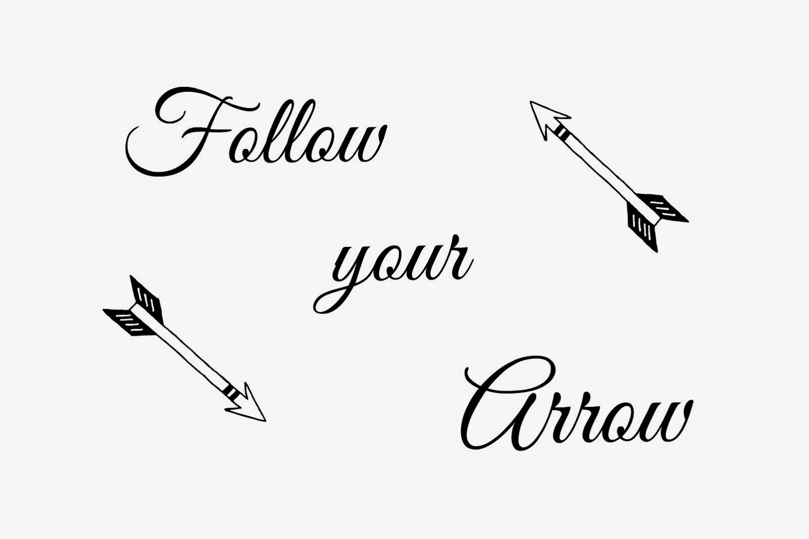 wall art, diy, Arrow, Follow Your Arrow by Kacey Musgraves, Printable