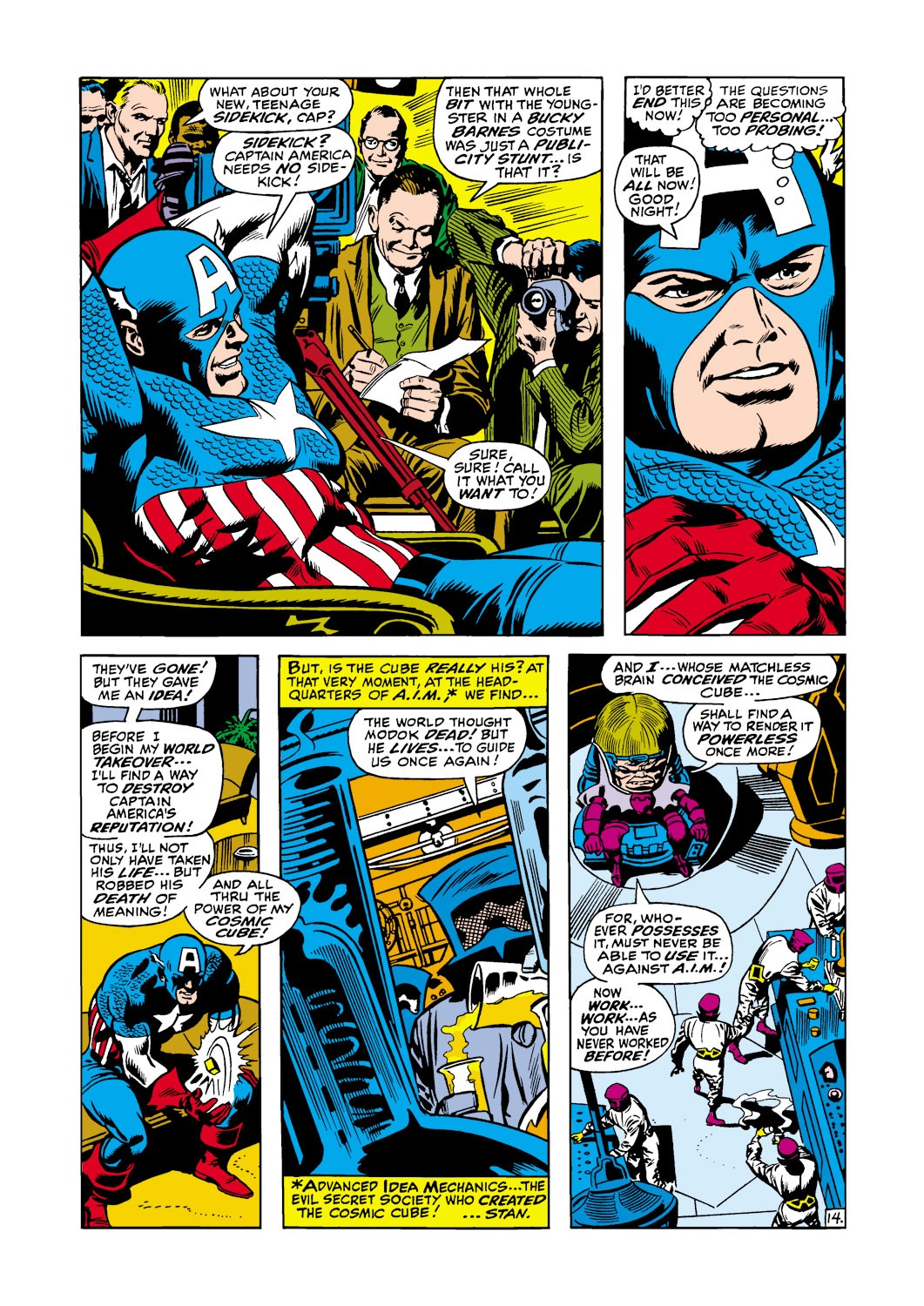 Captain America (1968) Issue #117 #31 - English 15