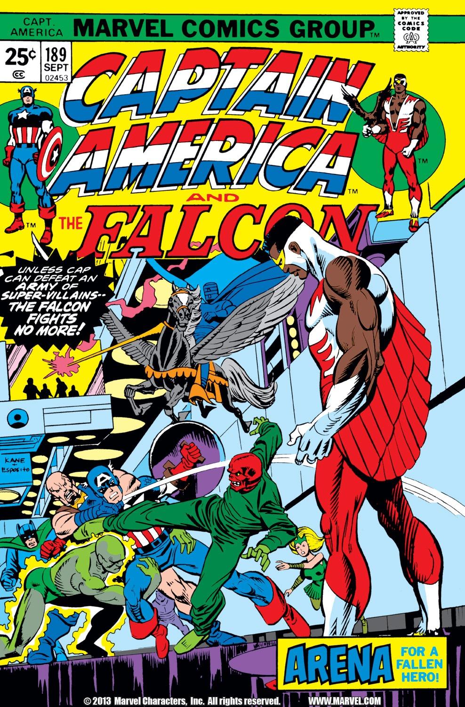 Captain America (1968) Issue #189 #103 - English 1