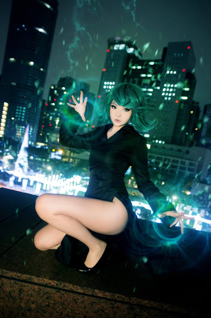 Cosplay Tatsumaki One Punch Man Misa Chiang images 04