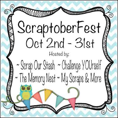 Scraptober Fest Challenge