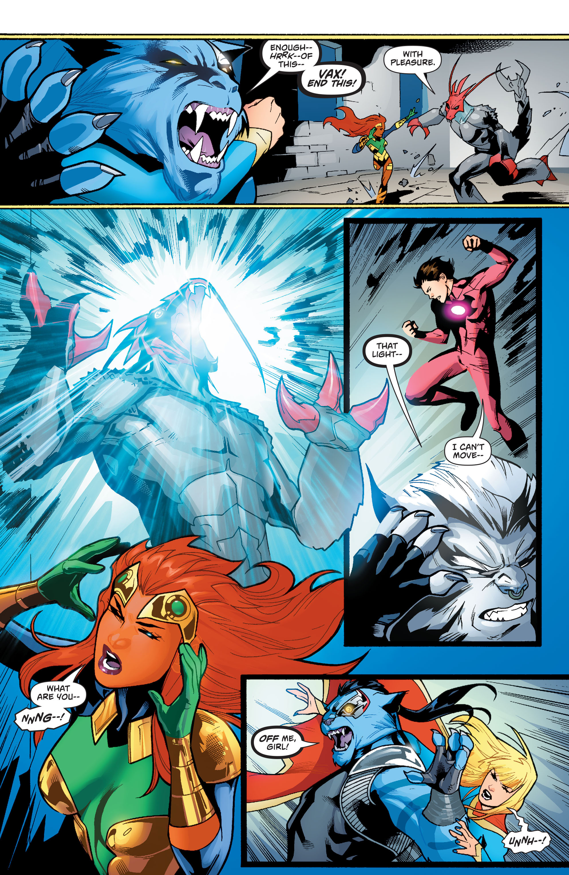 Supergirl (2011) Issue #38 #40 - English 6