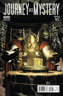 Journey into Mystery Vol 1 622 Variant Thor goes Hollywood The 72 Best Comic Book Covers of 2011