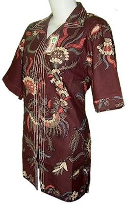 Model Batik Wanita