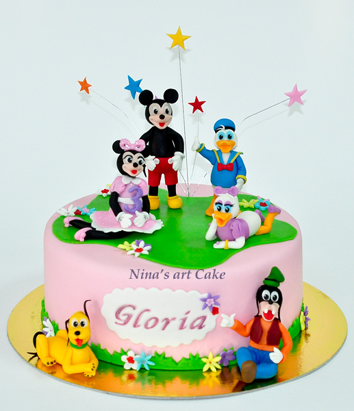 Tort Mickey Mouse Si Prietenii