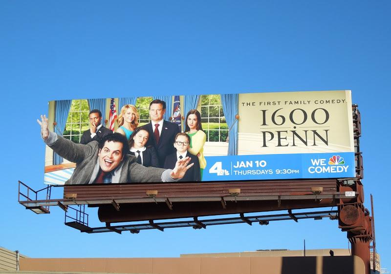 1600 Penn sitcom billboard