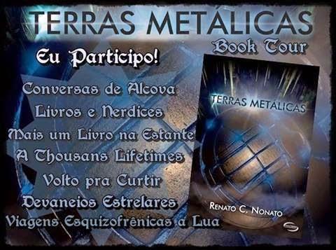Booktour Terras Metálicas