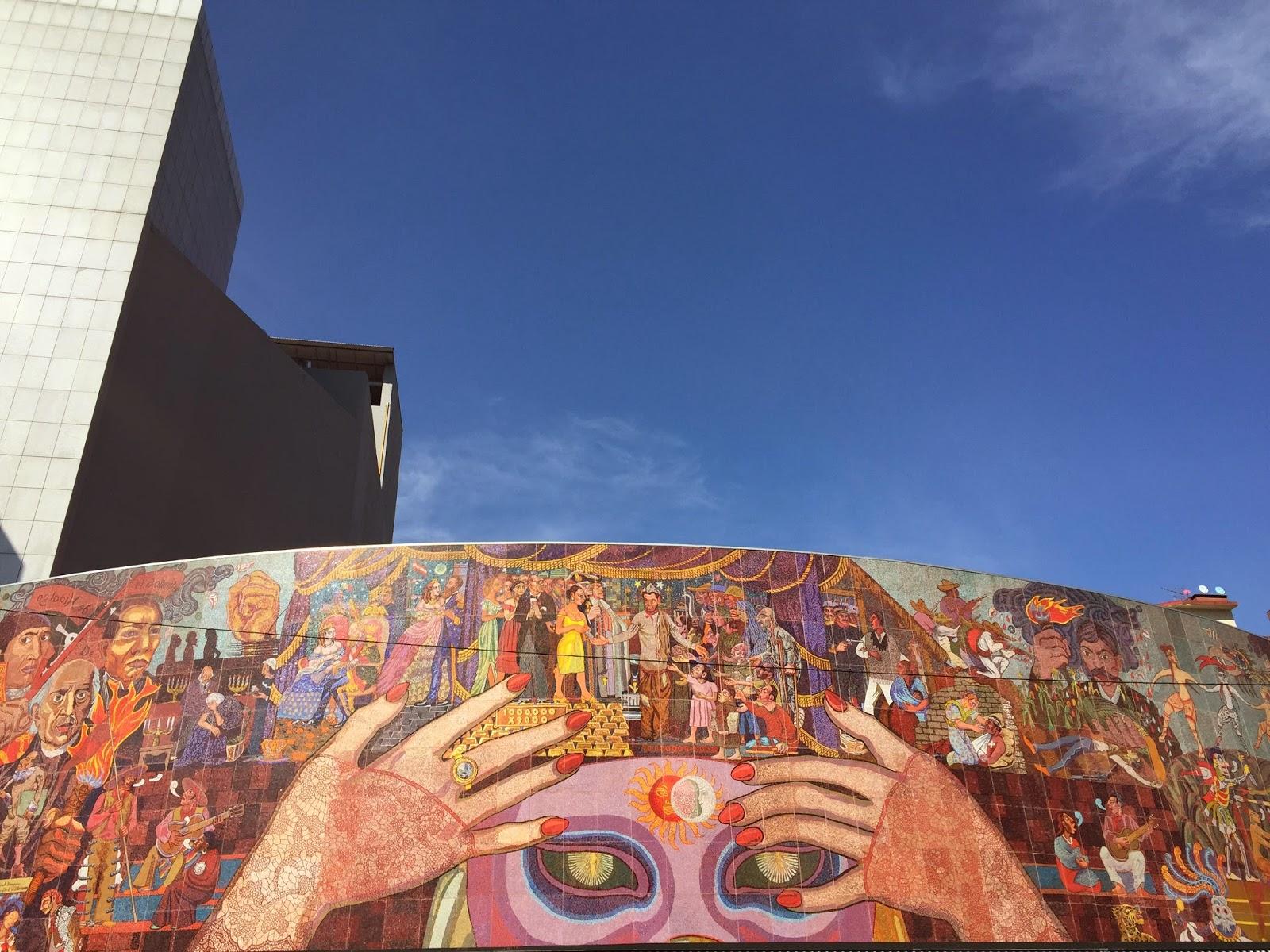Diego Rivera Theatre Mural