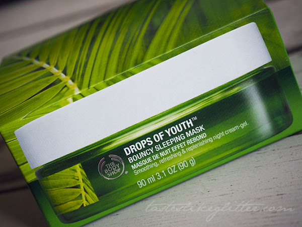 The Body Shop - Drops Of Youth Bouncy Sleeping Mask.
