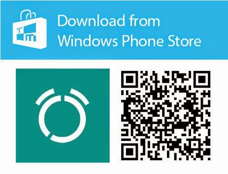 qr code realarm windows phone