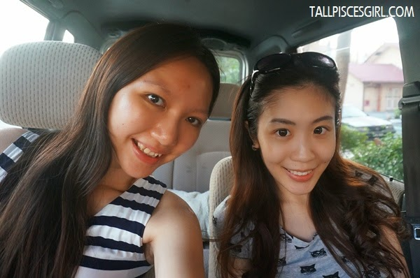 Angeline Tang and I, both 100% naked face =p