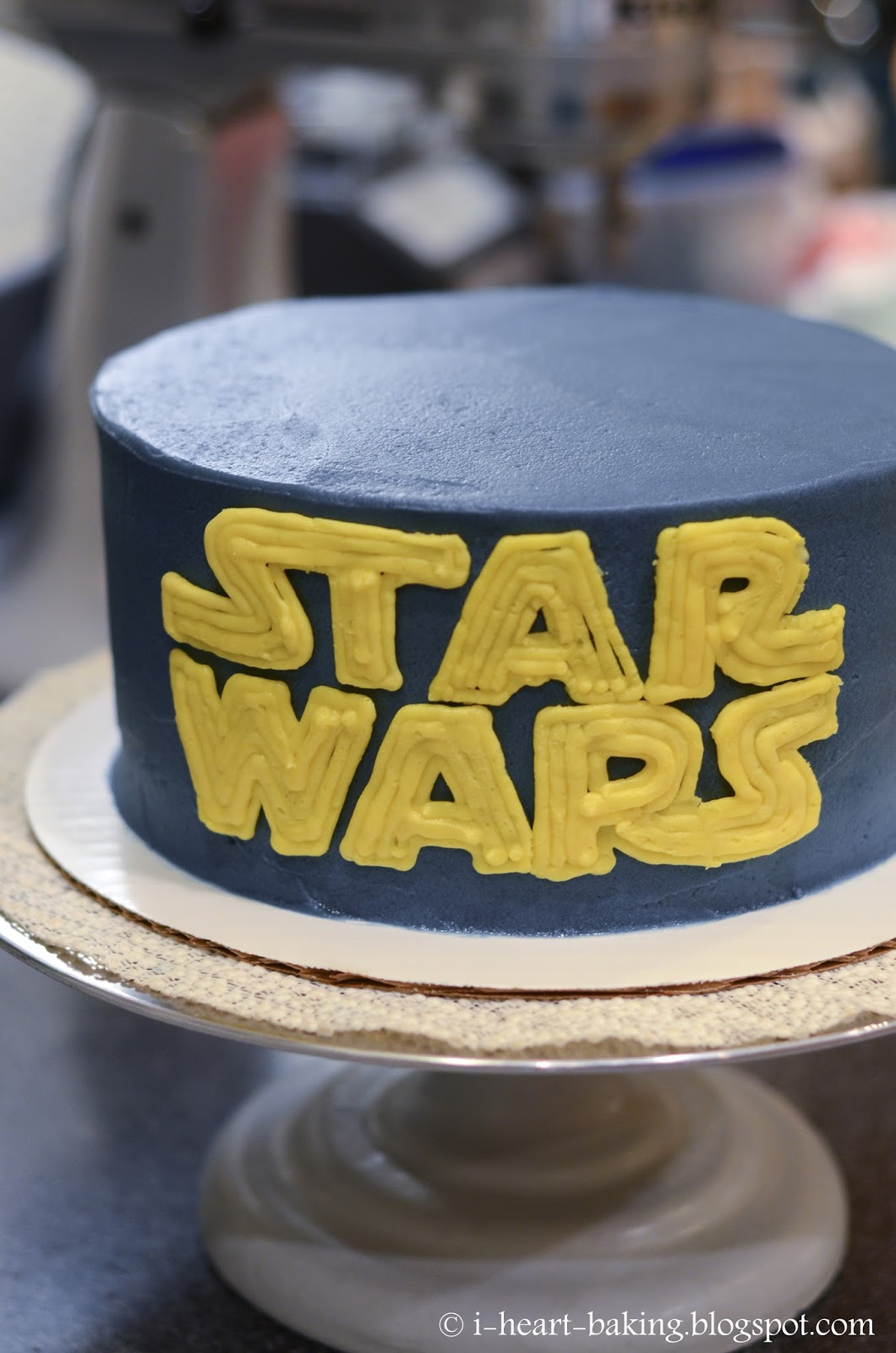 Images Of A Star Wars Cake : i heart baking!: star wars cake with handmade chocolate ...