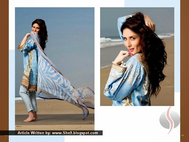 Faraz Manan Lawn Featuring Kareen Kapoor