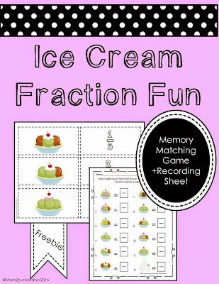 Fraction Game Freebie