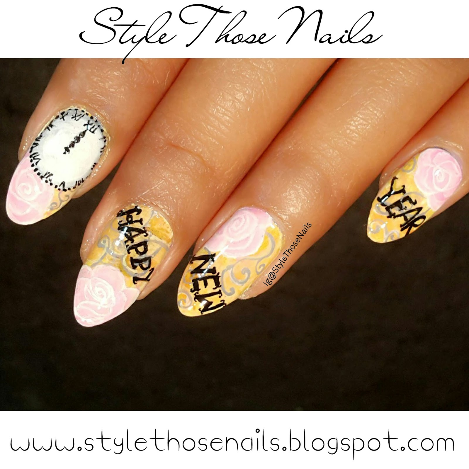 Style Those Nails: 40 Great Nailart Ideas- New Year Nails 2016