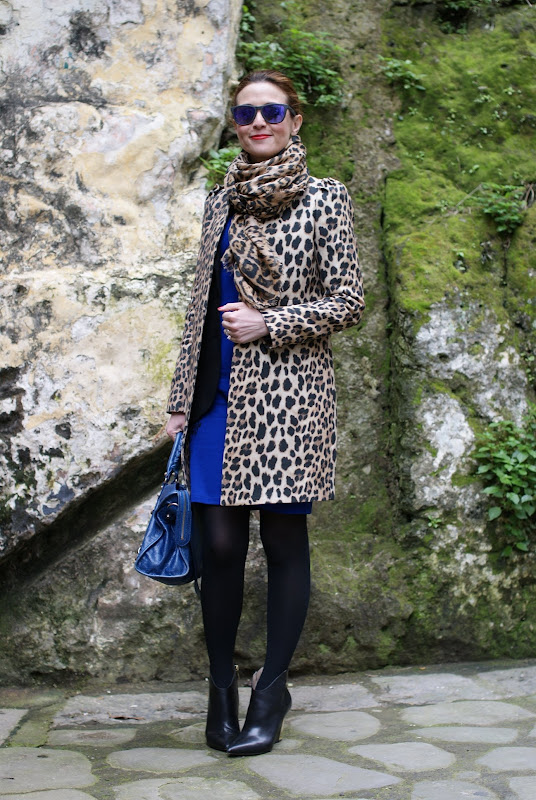 leopard print coat, Balenciaga city bag, Fashion and Cookies