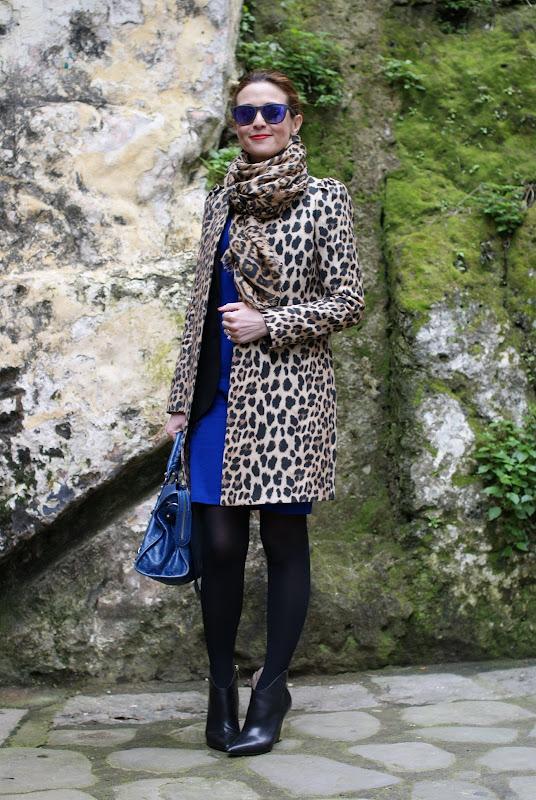 leopard print coat, Balenciaga city bag, Fashion and Cookies