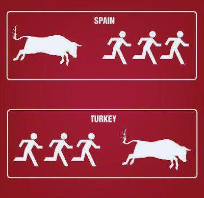 ispanya-vs-türkiye-kaçan-boğa-kurban