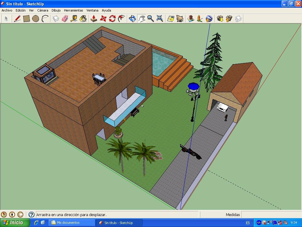 Aula de tecnolog a proyecto de dibujo t cnico for Mobilia para sketchup 8
