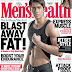 Aljur Abrenica flaunts his abs on Men's Health Philippines' December 2012 issue