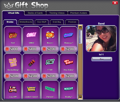 Ivey Poker Virtual Goods - Beta