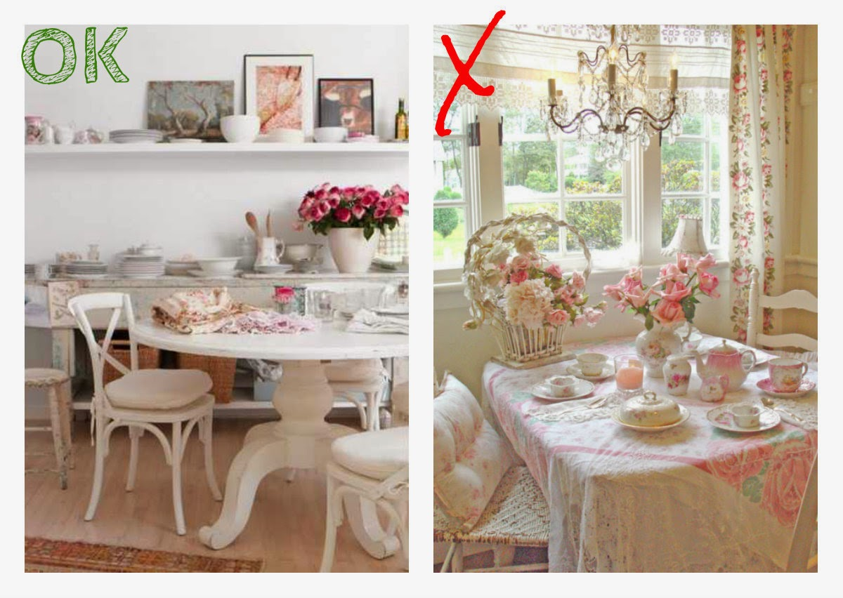Comedor estilo dirty shabby chic