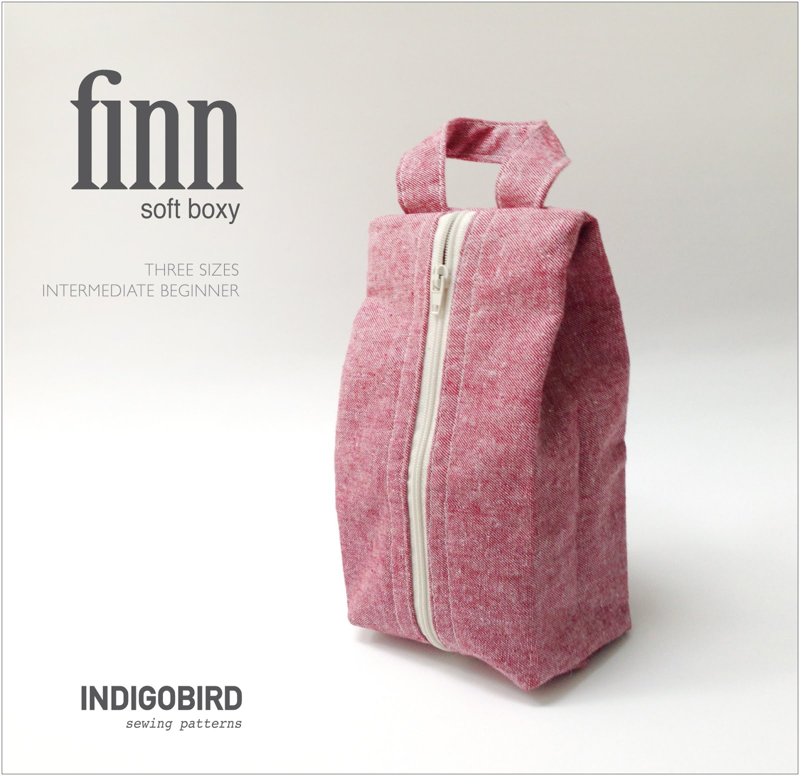 Finn Soft Boxy Bag Pattern
