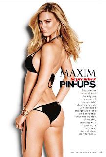 Bar Refaeli Covers Maxim September 2012