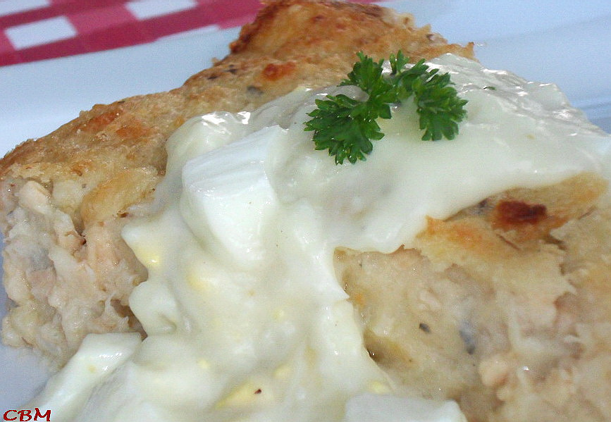 Dans la cuisine de Blanc-manger: Pâté au saumon sans pâte