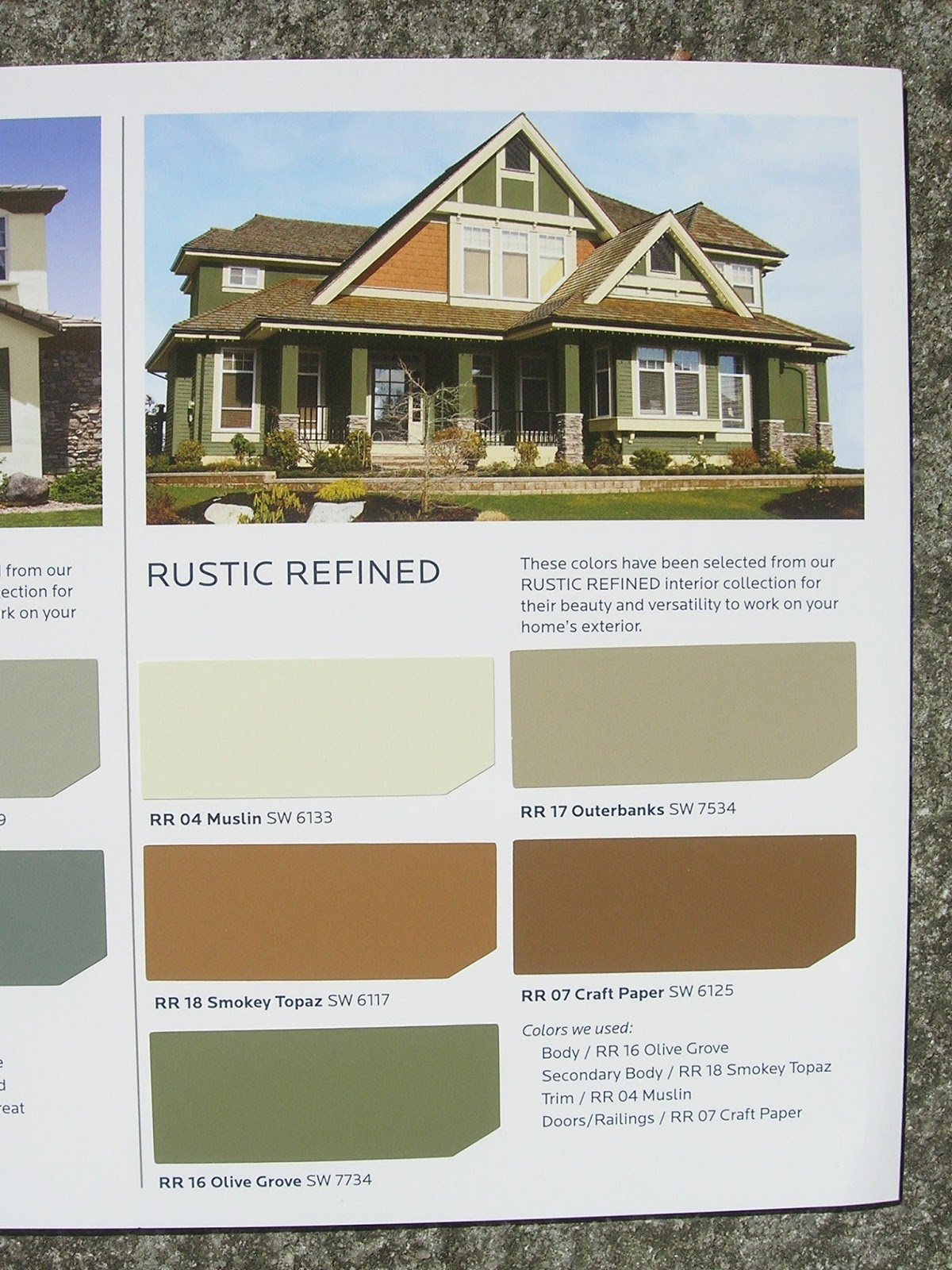My little bungalow choosing exterior paint colors - Images of exterior house paint colors model ...