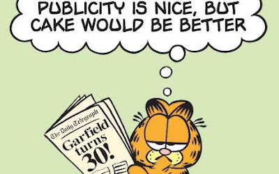 James Robert Davis(Cartoonist) Garfield 66th Birthday