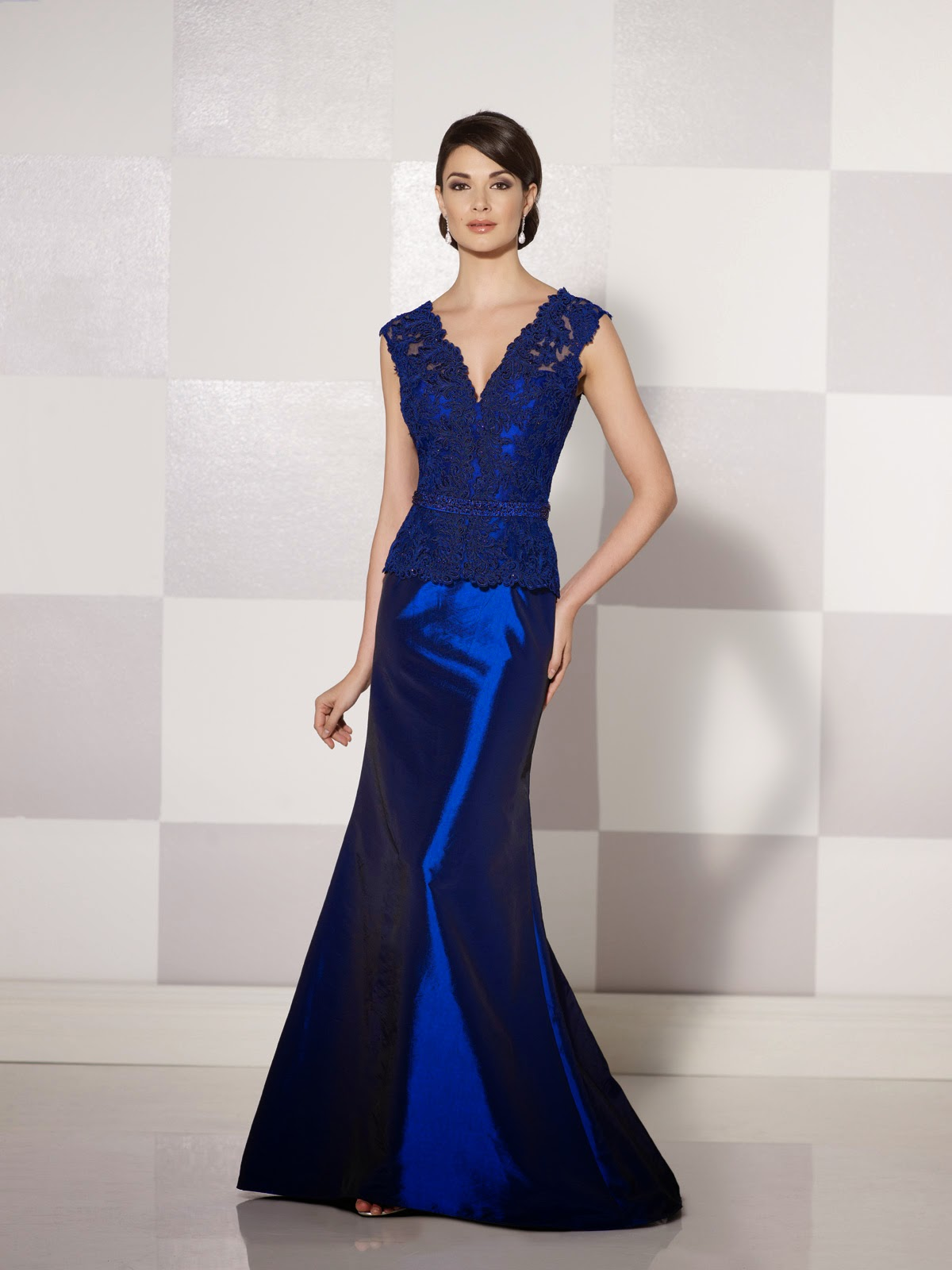 Mother of the Bride Dresses by Cameron Blake Fall 2014 blue
