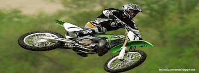 couverture facebook motocross