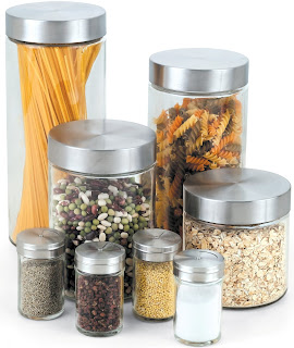 Image: Clear Glass Canisters