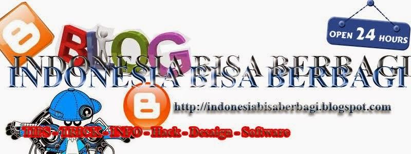Indonesia Bisa Berbagi