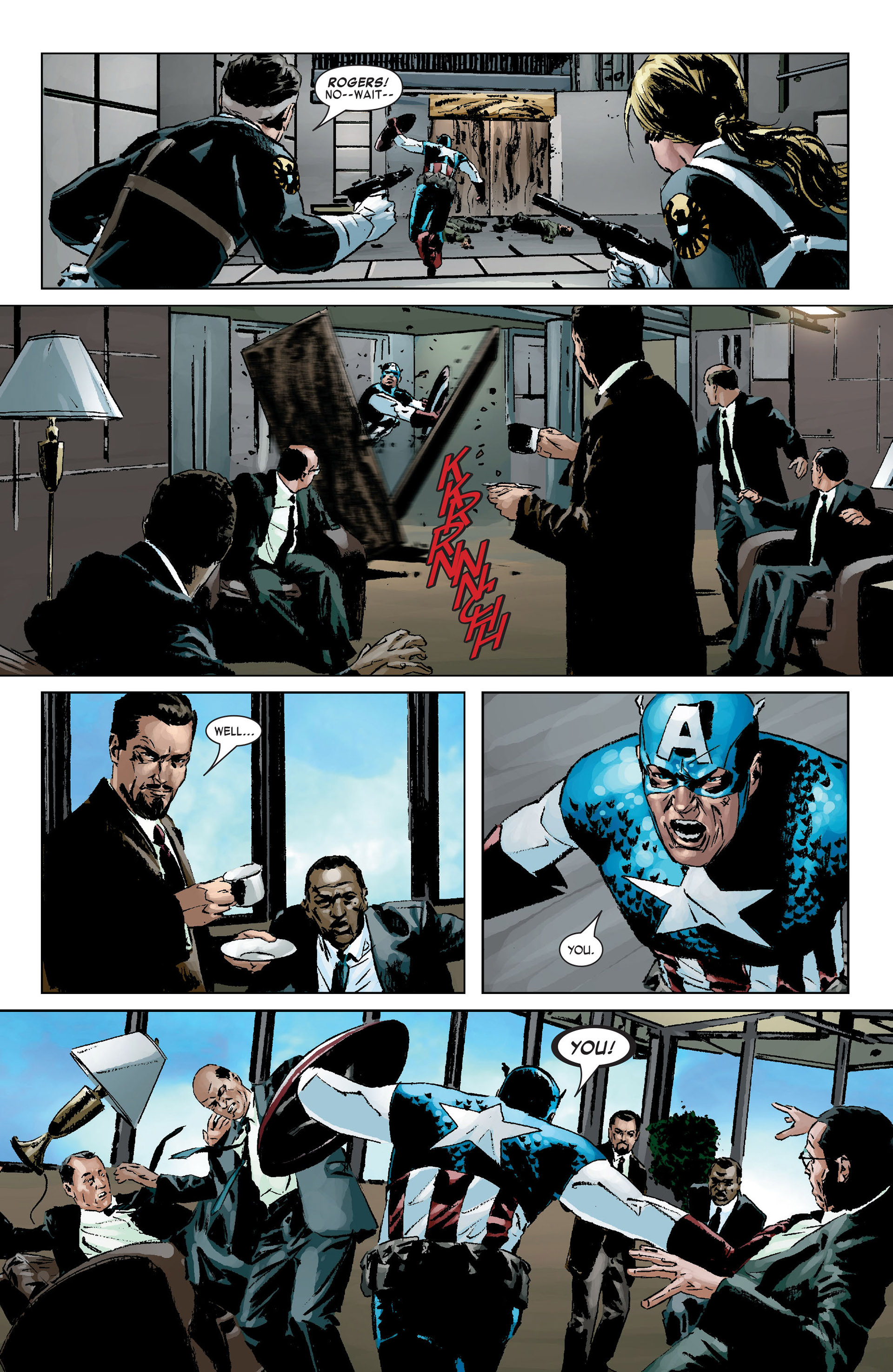 Captain America (2005) Issue #9 #9 - English 17