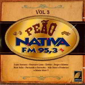 CD FlashNejo: Peão Nativa Vol 3  2011