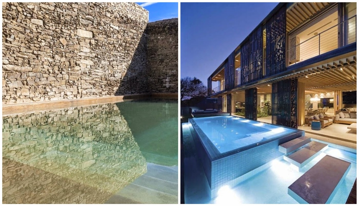 piscinas incríveis @interioresdesigndecoracao
