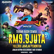 OST Boboiboy The Movie 2 (Lirik Lagu Fire And Water-Faizal Tahir)