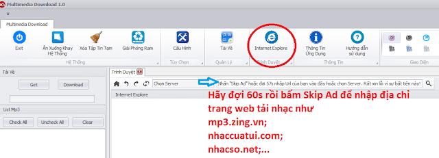 Tải nhạc mp3, nhaccuatui, zing, nhac.vui.vn, nhacso, youtube duy nhất với 1 tool miễn phí