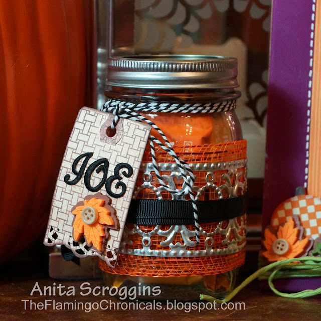 personalized gift tags candy jar