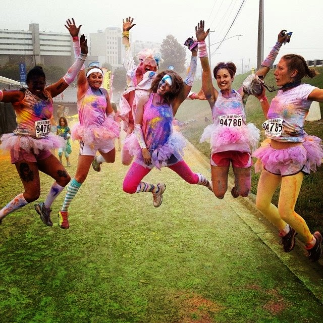 Charlotte Color Run 5k