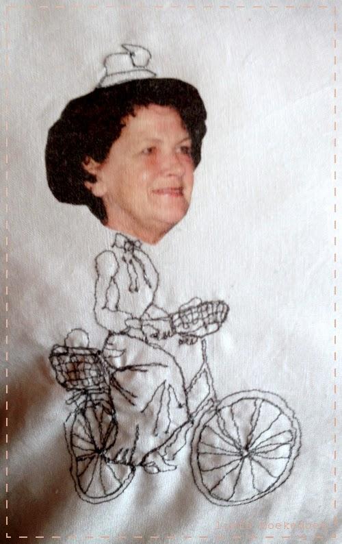 afbeelding van vrije hand geborduurde vrouw, door Doekedoek, www.doekedoek.nl