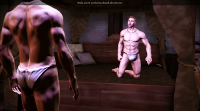 Dragon Age man prostitute scene