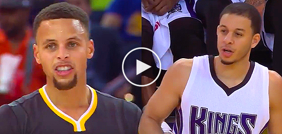 Stephen Curry vs His Brother, Seth Curry Highlights (VIDEO)