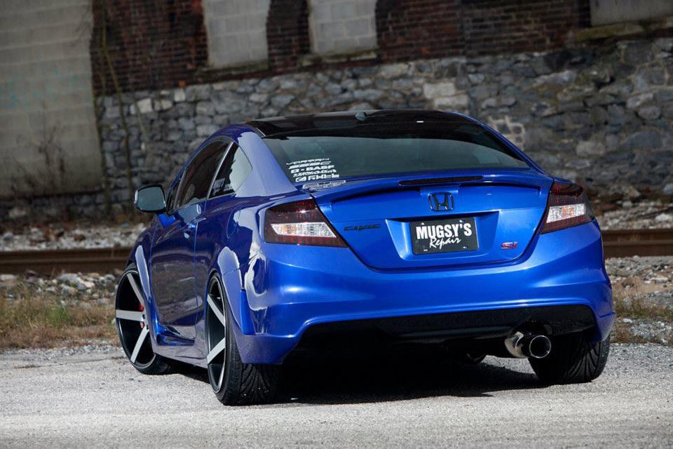 Honda Civic Tuning By Fox 3d Hd Wallpapers
